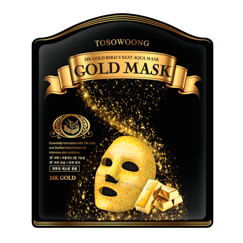 24K Gold Bird's Nest Aqua Mask