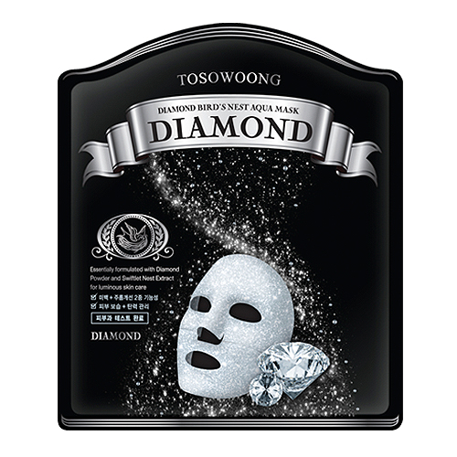 Diamond Bird's Nest Aqua Mask
